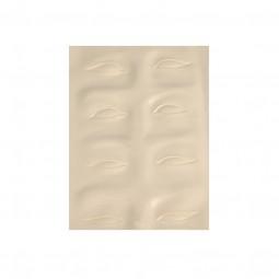 Matriz 3D de práctica para párpados y cejas