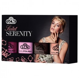 "NAIL POLISH SET ""SWEET SERENITY"", 4 UND., 8 ML"