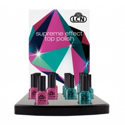 Expositor Supreme Effect Top Polish, 6 + 1, 8 ml