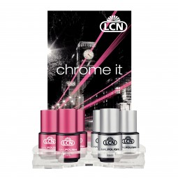 "Expositor Nail Polish ""Chrome it"", 6 + 1"